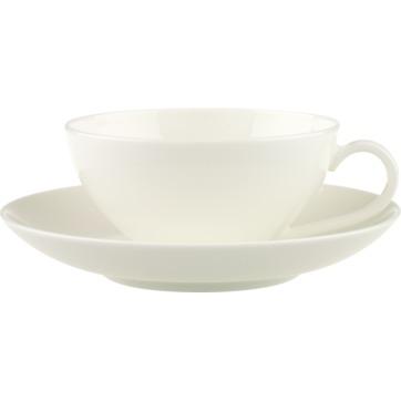 Villeroy & Boch - Anmut - filiżanka do herbaty ze spodkiem - pojemność: 0,2 l
