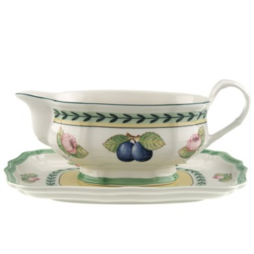 Villeroy & Boch - French Garden Fleurence - sosjerka z podstawką - pojemność: 0,4 l