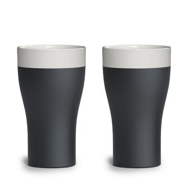 Magisso - ceramika chłodząca - 2 kubki do piwa - pojemność: 0,568 l
