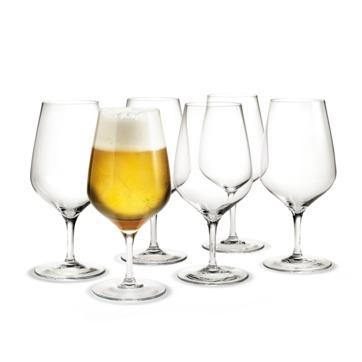 Holmegaard - Cabernet - 6 kieliszków do piwa - pojemność: 0,64 l