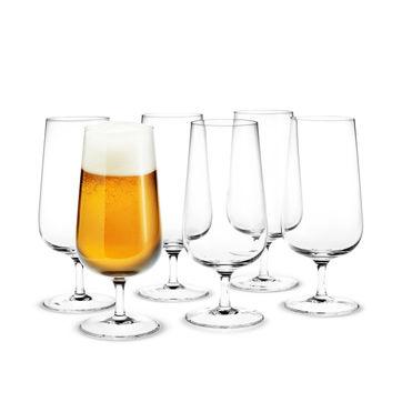 Holmegaard - Bouquet - 6 kieliszków do piwa - pojemność: 0,53 l