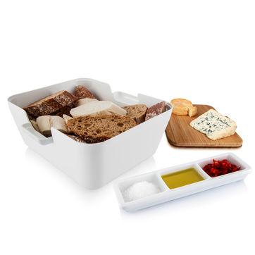 Tomorrow's Kitchen - Bread & Dip - pojemnik do serwowania pieczywa - wysokość: 10,5 cm