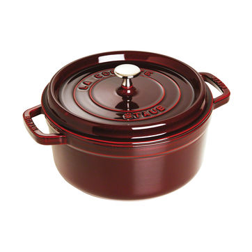 Staub - La Cocotte - garnek żeliwny - pojemność: 5,2 l