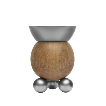 Sagaform - Nature - świecznik - wysokość: 14 cm