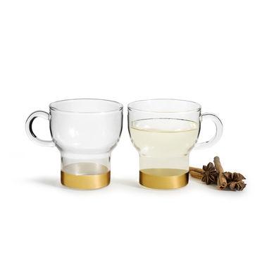Sagaform - Winter - 2 szklanki do grzanego wina - pojemność: 0,25 ml
