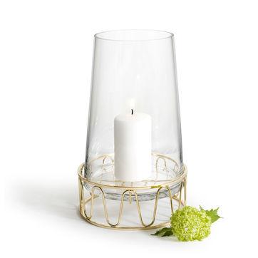 Sagaform - Winter - dwuczęściowy świecznik - wysokość: 28 cm
