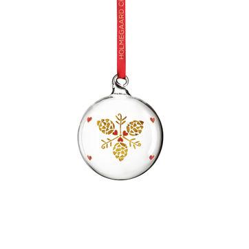 Holmegaard - Christmas - bombki - wysokość: 7 cm