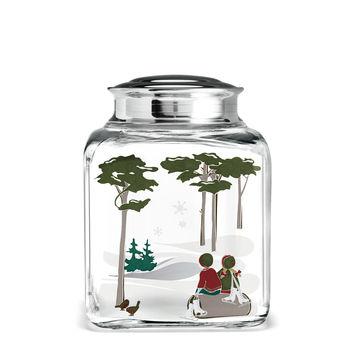 Holmegaard - Christmas - pojemnik na ciasteczka - wysokość: 16 cm