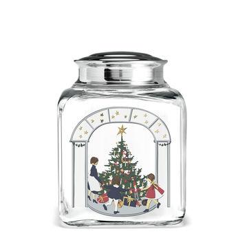 Holmegaard - Christmas - pojemnik na ciasteczka - wysokość: 16 cm; choinka