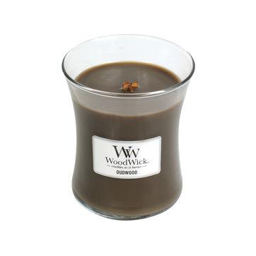 WoodWick - Oudwood - świeca zapachowa - drzewo agarowe - czas palenia: do 65 godzin