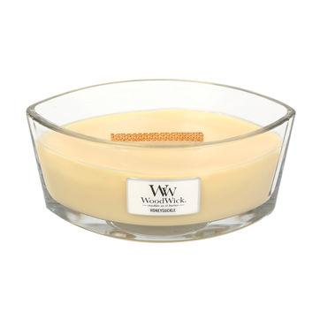 WoodWick - Honeysuckle - świeca zapachowa - kwiaty wiciokrzewu - czas palenia: do 60 godzin