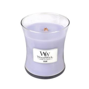 WoodWick - Lilac - świeca zapachowa - wonny bez - czas palenia: do 100 godzin