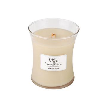 WoodWick - Vanilla Bean - świeca zapachowa - ziarna wanilii - czas palenia: do 100 godzin