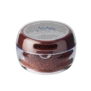 MSC - tarka z pojemnikiem do posypywania - do czekolady, orzechów lub cynamonu