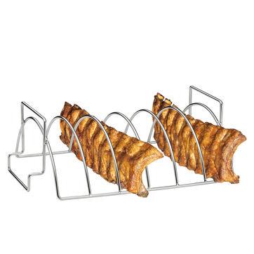 Küchenprofi - dwustronny stojak do grillowania - wymiary: 38 x 25,5 x 12,5 cm