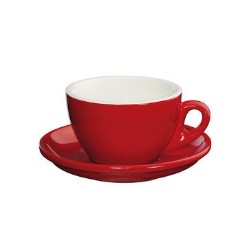 Cilio - Roma - filiżanki do cappuccino ze spodkami - pojemność: 0,1 l