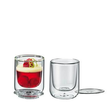 Cilio - 2 szklanki o podwójnych ściankach - pojemność: 0,08 l