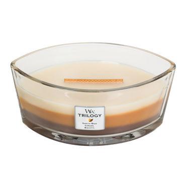 WoodWick - Cafe Sweets - potrójna świeca zapachowa - słodka przerwa - czas palenia: do 60 godzin