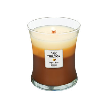 WoodWick - Cafe Sweets - potrójna świeca zapachowa - słodka przerwa - czas palenia: do 100 godzin