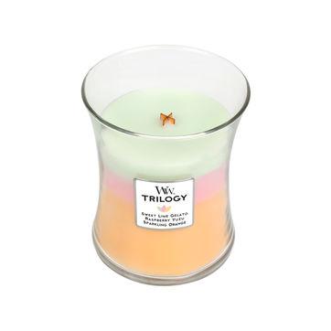 WoodWick - Summer Sweets - potrójna świeca zapachowa - kolorowe słodycze - czas palenia: do 100 godzin