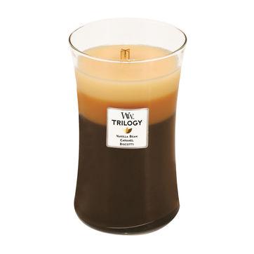 WoodWick - Cafe Sweets - potrójna świeca zapachowa - słodka przerwa - czas palenia: do 120 godzin