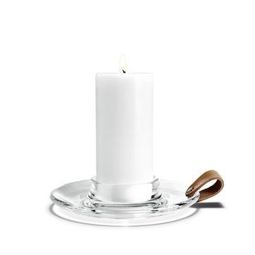 Holmegaard - Design with Light - świecznik - średnica: 19 cm; na świece o średnicy 7 cm