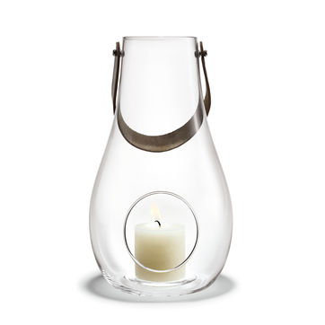 Holmegaard - Design with Light - latarnia - wysokość: 45 cm