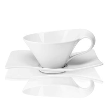 Villeroy & Boch - New Wave - filiżanka do herbaty ze spodkiem - pojemność: 0,22 l