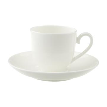 Villeroy & Boch - Royal - filiżanka do espresso ze spodkiem - pojemność: 0,1 l