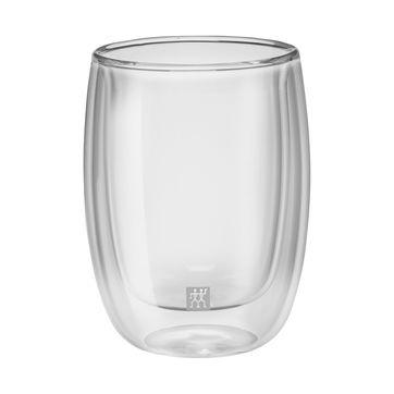 Zwilling - Sorrento - 2 szklanki do kawy o podwójnych ściankach - pojemność: 0,2 l