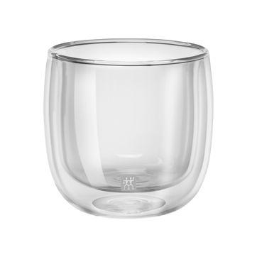 Zwilling - Sorrento - 2 szklanki do herbaty o podwójnych ściankach - pojemność: 0,24 l
