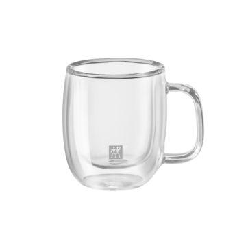 Zwilling - Sorrento Plus - 2 szklanki do espresso o podwójnych ściankach - pojemność: 0,08 l
