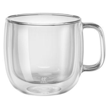 Zwilling - Sorrento Plus - 2 szklanki do cappuccino o podwójnych ściankach - pojemność: 0,45 l
