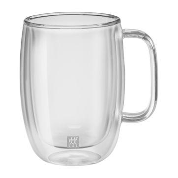 Zwilling - Sorrento Plus - 2 szklanki do latte macchiato o podwójnych ściankach - pojemność: 0,45 l