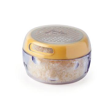 MSC - tarka z pojemnikiem do posypywania - do parmezanu i innych twardych serów