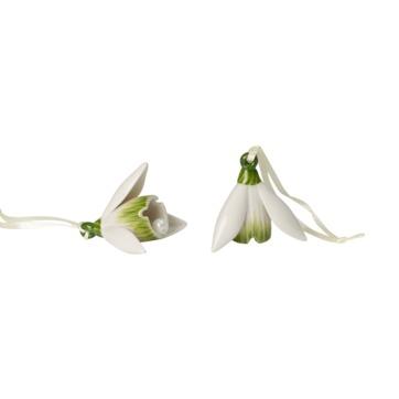 Villeroy & Boch - Mini Flower Bells - 2 zawieszki - przebiśniegi - wysokość: 5 cm