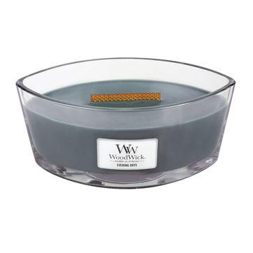 WoodWick - Evening Onyx - świeca zapachowa - wieczorna orchidea - czas palenia: do 40 godzin