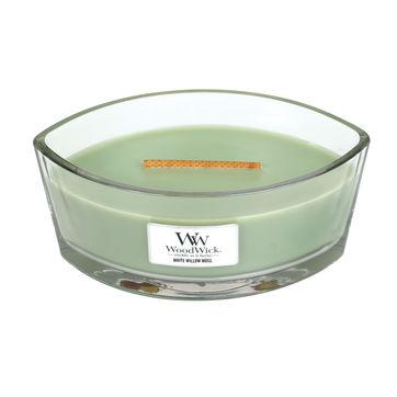 WoodWick - White Willow Moss - świeca zapachowa - wierzbowy las - czas palenia: do 40 godzin