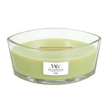 WoodWick - Fern - świeca zapachowa - odżywający las - czas palenia: do 60 godzin