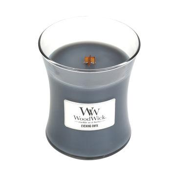 WoodWick - Evening Onyx - świeca zapachowa - wieczorna orchidea - czas palenia: do 100 godzin