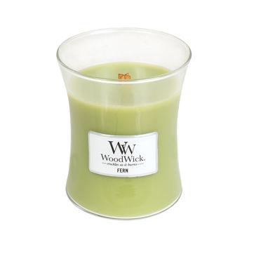 WoodWick - Fern - świeca zapachowa - odżywający las - czas palenia: do 100 godzin