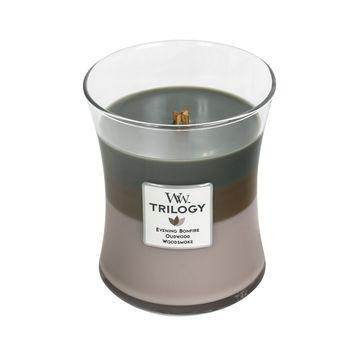 WoodWick - Cozy Cabin - potrójna świeca zapachowa - górska chatka - czas palenia: do 100 godzin