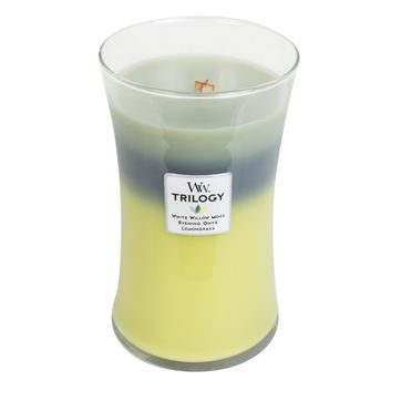 WoodWick - Woodland Shade - potrójna świeca zapachowa - nieodkryta puszcza - czas palenia: do 175 godzin