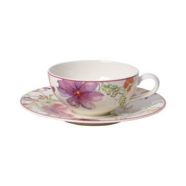 Villeroy & Boch - Mariefleur Tea - filiżanka do herbaty ze spodkiem - pojemność: 0,24 l