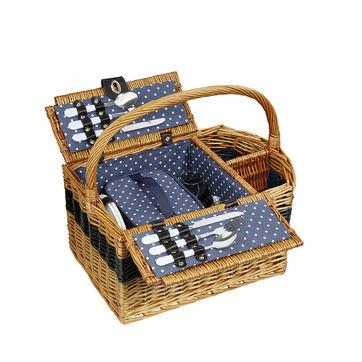 Cilio - Cernobbio - kosz piknikowy z wyposażeniem dla 2 osób