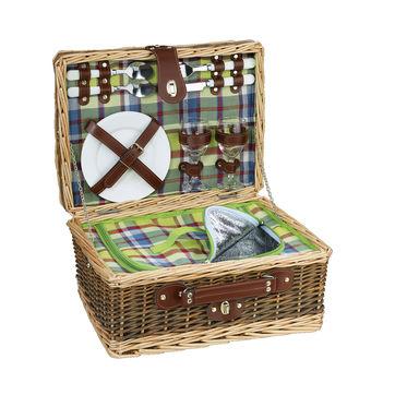 Cilio - Melano - kosz piknikowy z wyposażeniem dla 2 osób - wymiary: 40 x 30 x 20 cm