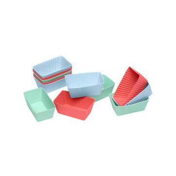 Lurch - FlexiForm - 12 foremek na ciastka brownie - wymiary: 8 x 4,5 x 3 cm