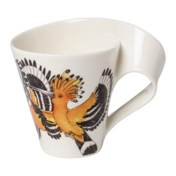 Villeroy & Boch - New Wave Caffe Yellow Hoopoe - kubek - pojemność: 0,3 l