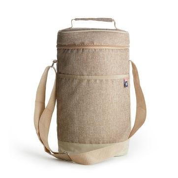 Sagaform - Outdoor - torba termiczna na 2 butelki Nautic - wymiary: 22 x 11 x 36 cm
