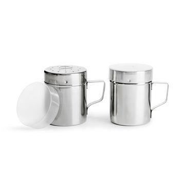 Sagaform - BBQ - solniczka i pieprzniczka - średnica: 7 cm